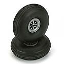 """DU-BRO Low Bounce Treaded Wheels 3-1/4"""" (2)  DUB325T"""