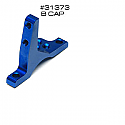 Team Associated/Factory Team Alum Blue Vertical Ball Stud Bearing Cap B ASC31373
