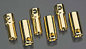 Castle Creations 5.5mm Bullet Connectors 13G/10G 150A (3)  CCBUL5.5X3