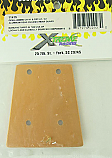 Xtreme Racing 1/8th Scale Alum Rear Chassis Wear Guard/Jammin CR/CRT XTR11415