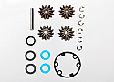 Traxxas 1/8 Scale Funny Car Gear Set Diff Output Gears Seals
