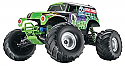 Traxxas 1/16th Scale Grave Digger Monster Truck w/Backpack TRA7202A