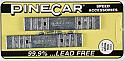 PineCar 2oz Strip Weights  PINP352