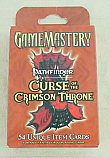Game Mastery Role Playing Accessory: Curse of the Crimson Throne Item Cards