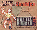 Please Stand By: Zombies Miniatures Booster Pack by Battle Bunker Games  BBG4000