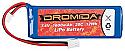 Dromida LiPo 2S 7.4V 1600mAh 20C Battery/SC/MT/BX DIDC1134