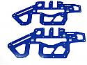Xtreme Racing Blue G-10 Side Plates (2)/Align T-Rex 450 Pro  XTR11707GB