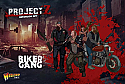 Project Z Zombie Miniatures Game: Motorbike Gang Expansion Set WRLZZOM03