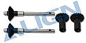 Align T-Rex 450 Torque Tube Rear Drive Gear Set  AGNH45G002XXW