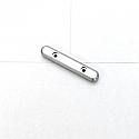 Associated RC10 T4/B4/SC10 Silver Alloy Front Hinge Pin Brace