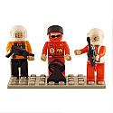 Bric Tec Racing Building Block Figures (3pcs) BIC19308