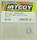 Losi Micro-T 50T Silver Aluminum Spur Gear