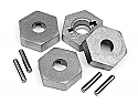 HPI Racing Trophy 4.6/Flux Truggy 17mm Hex and Pin Set (4 pcs.)