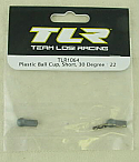 Team Losi Racing 22 1/10 Scale Buggy 30 Degree Short Plastic Ball Cup