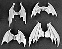 Dark Heaven Legends Demonic Wings (4) Unpainted Miniature  RPR03182