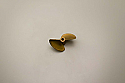 Kyosho Metal Propeller (D35xP1.4) for R/C Boats