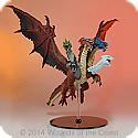 Dungeons & Dragons D&D Icons of the Reams: Bahamut Premium figure WZK71858
