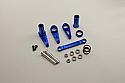 Kyosho DBX/DST/DRT/DRX Blue Aluminum Servo Saver