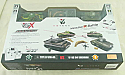 1/72nd Scale Type 97 CHI-HA/Sherman M4 VS Radio Controlled Tank Battle Set VSKA03102353