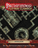 Pathfinder Flip-Mat Classics: Dungeon By Paizo Publishing  PZO31009