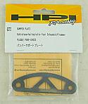 HPI Racing RS4 Pro/Mini/Rally/Nitro RS4/Nitro Racer Graphite Bumper Plate