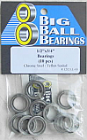 "1/2x3/4x5/32"" Teflon Sealed Bearings (10 Pieces)"
