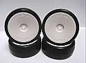 Team Powers 1/10th Scale Touring Car Rubber Tires Premounted (4)  TPRTPG3604