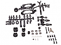 Axial Racing 1/10 2-Speed Hi/Lo Transmission Conversion Kit/Yeti/RR10 AXIAX31181