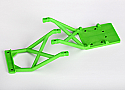 Traxxas Stampede Green Front & Rear Skid Plates