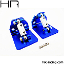 Hot Racing Aluminum Adjustable Trim Tab Set/Traxxas Spartan Boat  HRASPN311AR06