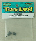 Team Losi XX-4 (XX4) 4WD Buggy Front Universal Pivots LOSA1221