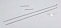 Hobbico Flyzone/Pushrod/Clevis Set/Cessna 182 HCAA3915