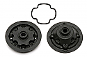 Associated TC6 Gear Diff Case and Pulley