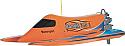 Thunder Tiger Bandit II Orange Nitro Tunnel Hull w/Outboard
