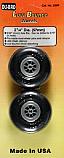 "DU-BRO Low Bounce Smooth Wheels 2-1/4"" (2)  DUB225R"