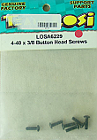 Team Losi 4-40 x 3/8 Button Head Screws  LOSA6229